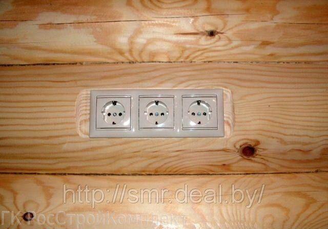 Проводка в деревянном доме своими руками сделать схему