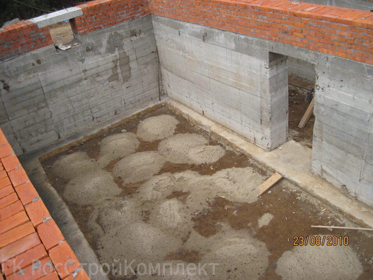 устройство цокольного этажа фото