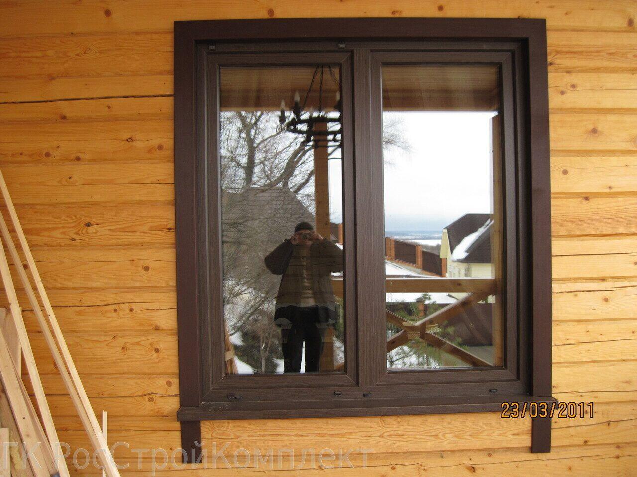 Наличники на окна из пвх в деревянном доме своими руками