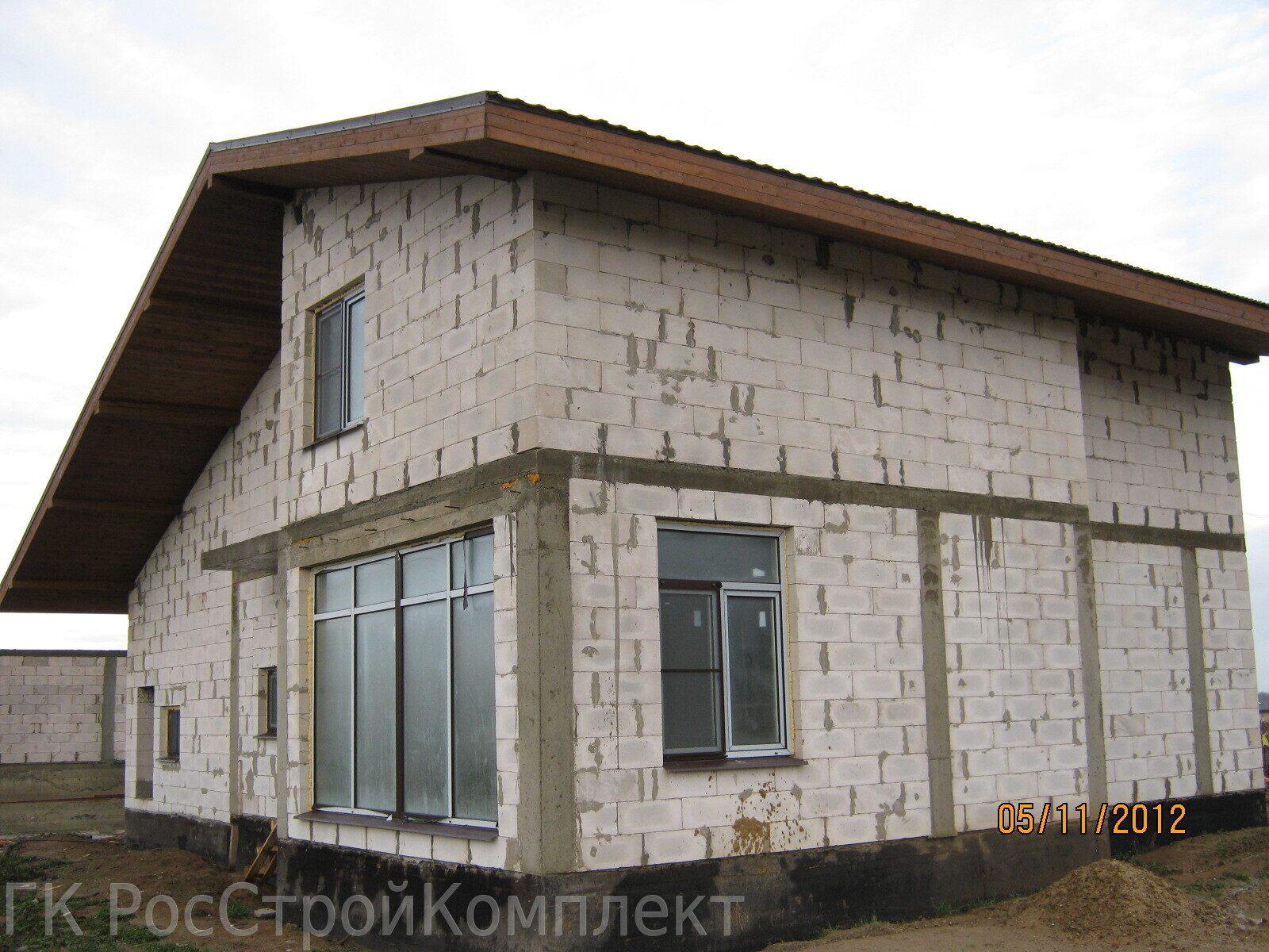 Построить дом из пеноблоков цена своими руками