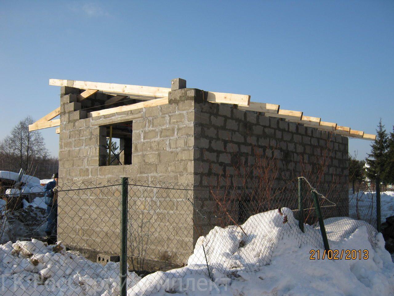 Построить хозблок из кирпича своими руками на даче
